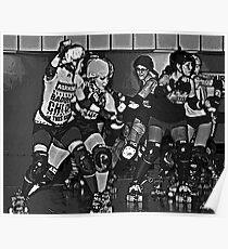 Rollergirls Poster