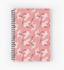 Watercolor narcissus flower  Spiral Notebook