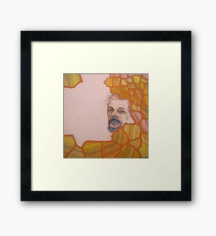1995 self portrait Framed Print