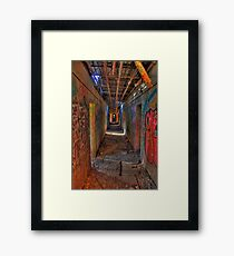 The way out of the Asylum Framed Print