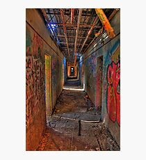 The way out of the Asylum Photographic Print