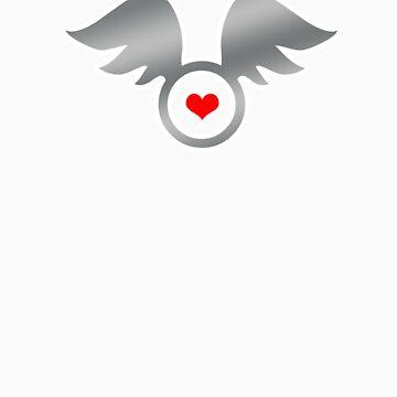 Flying Heart by stuartist