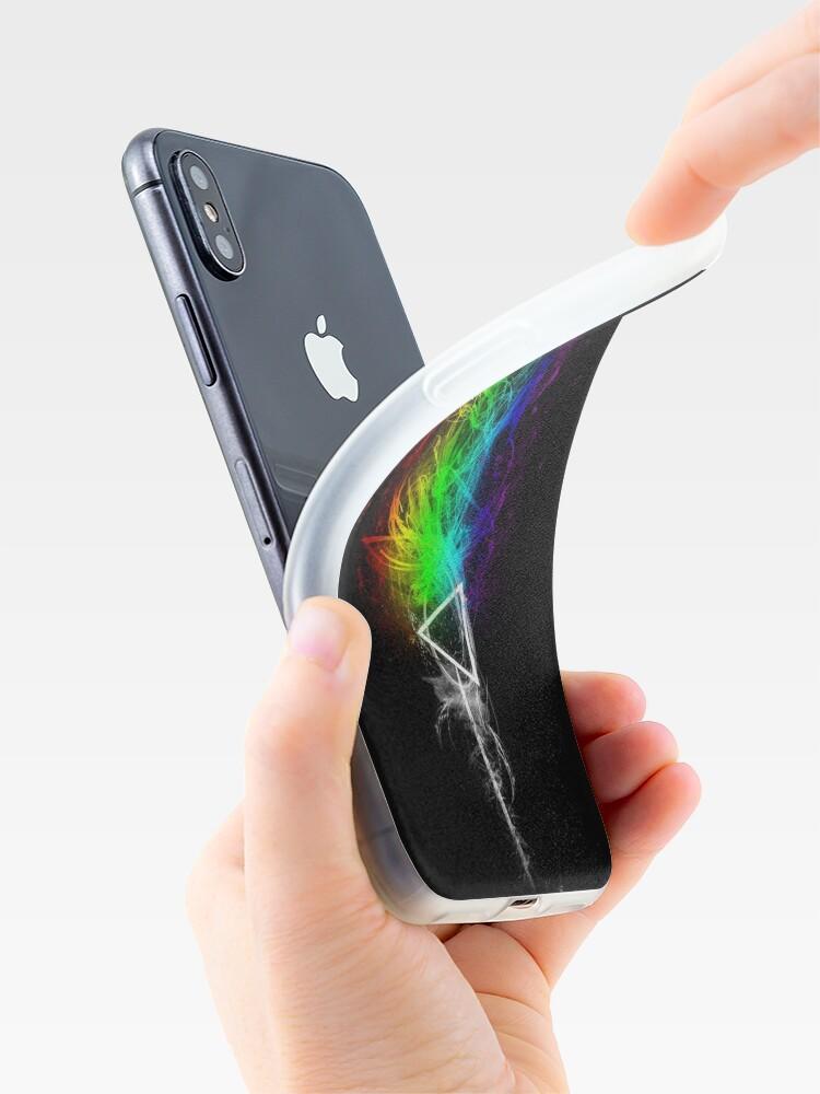 Vista alternativa de Vinilos y fundas para iPhone Pink Floyd - El lado oscuro de la luna
