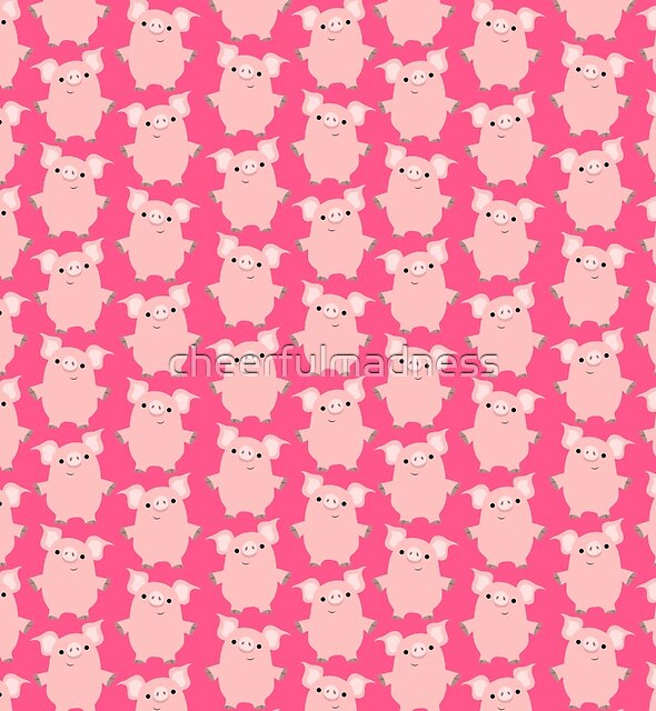Curious Cartoon Pigs by Cheerful Madness!! by cheerfulmadness