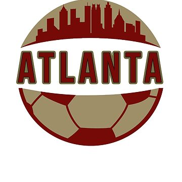 Atlanta Soccer  Shirt by RadTechdesigns