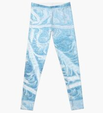 Winter Swirls   Leggings