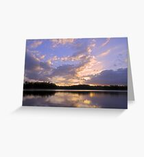 An end to a summers day Greeting Card