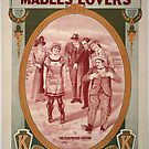Vintage Hollywood Nostalgia Mabels Lover Film Movie Advertisement Poster by jnniepce