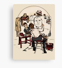 Doctor Rockwell Canvas Print
