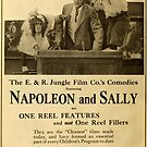Vintage Hollywood Nostalgia Napoleon and Sally Monkey Film Movie Advertisement Poster by jnniepce