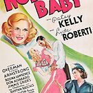 Vintage Hollywood Nostalgia Nobodys Baby Film Movie Advertisement Poster by jnniepce