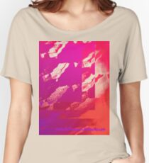 Fuchsia Abstract Women's Relaxed Fit T-Shirt