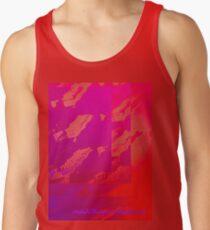 Fuchsia Abstract Men's Tank Top