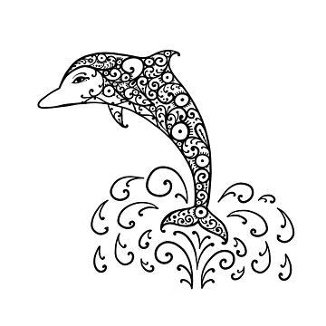 Dolphin by Kudryashka