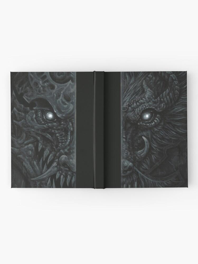 Alternative Ansicht von The Secretive Notizbuch