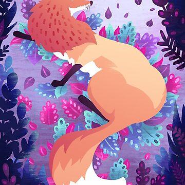 Fox by beesants