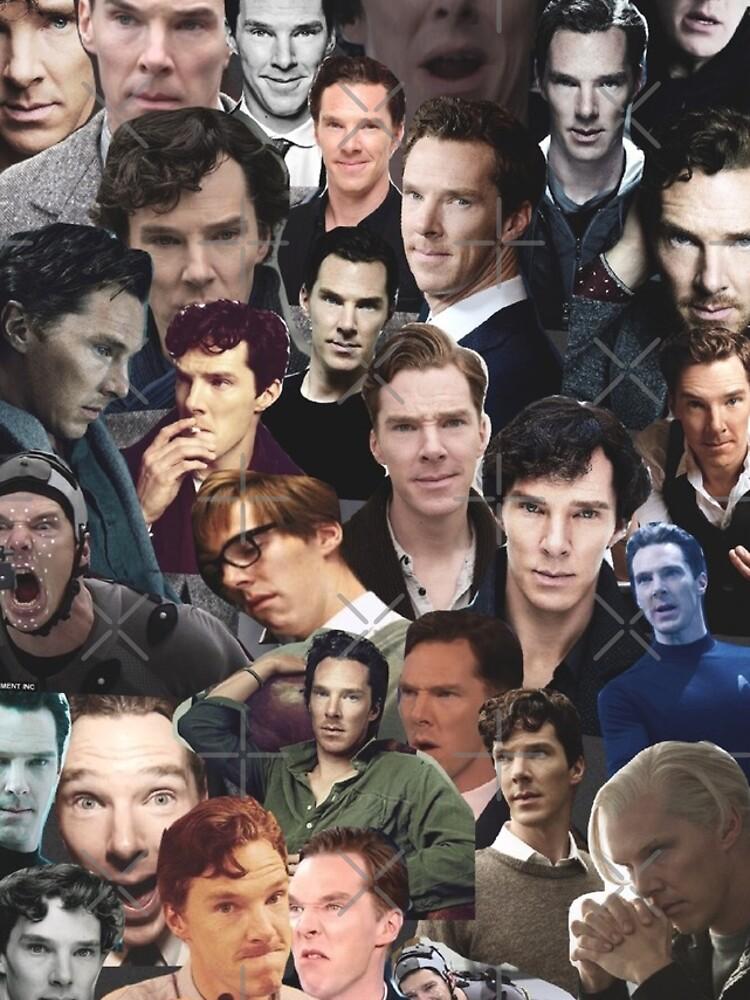 Benedict Cumberbatch-Collage von unicorndeni