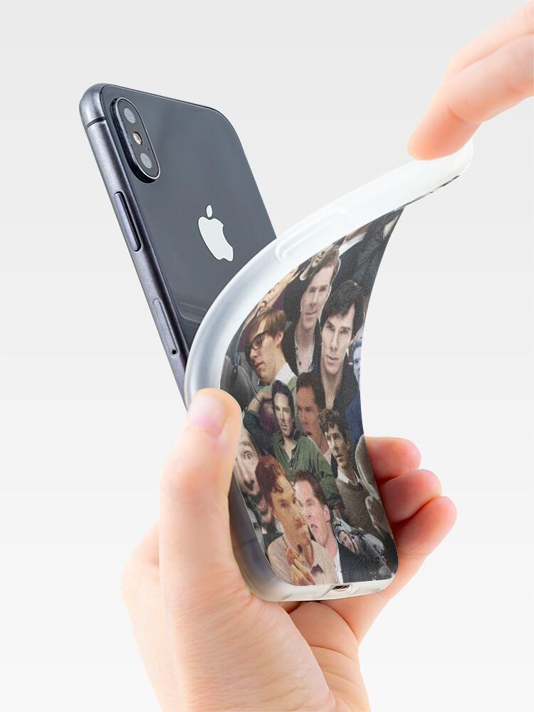 Alternative Ansicht von Benedict Cumberbatch-Collage iPhone-Hülle & Cover