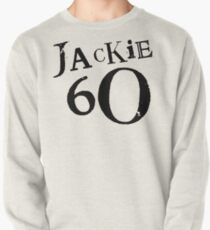 Jackie 60 Classic Black Logo on White  Pullover