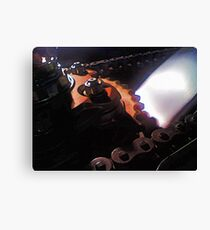 Streetfighter Sprocket Canvas Print