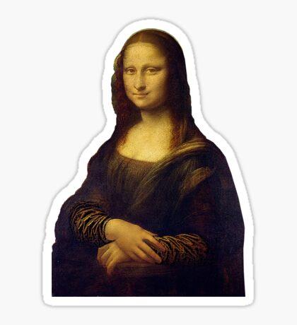 Mona Lisa Grunge Sticker