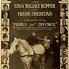 Vintage Hollywood Nostalgia Perils of Divorce Film Movie Advertisement Poster by jnniepce