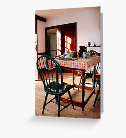 Sunny Kitchen Greeting Card