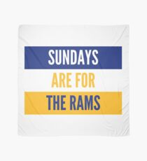 Sundays are for the Rams Scarf