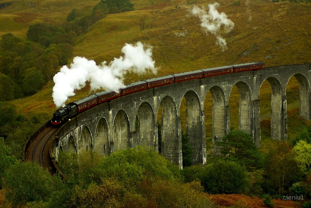 Glenfinnan viaduct  by cieniu1