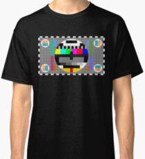 Calibration Test Card, TV monitor film, video geek Classic T-Shirt