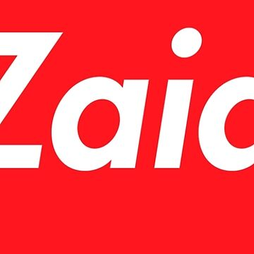 Hello My Name Is Zaid Name Tag by efomylod