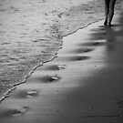 An angel's footsteps passing through by MargaretC