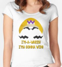 I'm-a-Wario! Women's Fitted Scoop T-Shirt