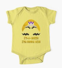 I'm-a-Wario! One Piece - Short Sleeve