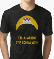 I'm-a-Wario! Tri-blend T-Shirt