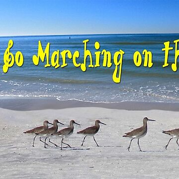 Willets Go Marching by ayemagine