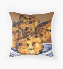 Oven Fresh - Tasty Rock Cakes Throw Pillow