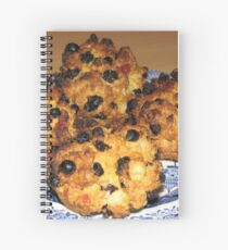 Oven Fresh - Tasty Rock Cakes Spiral Notebook