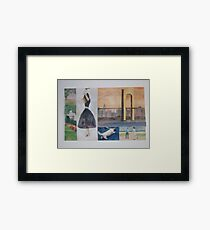 Joyful New York Framed Print