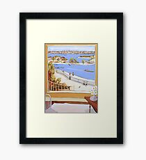 Another lazy day Framed Print
