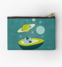 Avocado in Space Studio Pouch