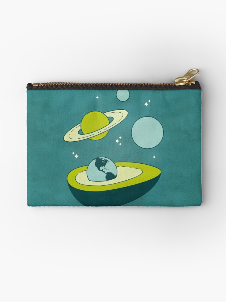 Avocado in Space by musingtree
