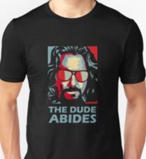 Camiseta ajustada The Dude Abides Man
