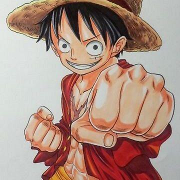 Luffy Color One Piece by Davidisla39