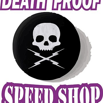 NEW DEATH PROOF INDUSTRIES TSHIRT HOT ROD GARAGE SPEED SHOP RAT BARS T-SHIRT by wicala