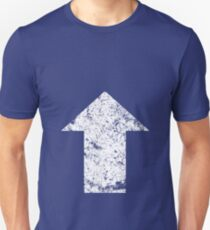Tactical Arrow Wht Stressed T-Shirt