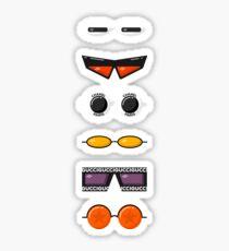 Bad Bunny Sunglasses Sticker