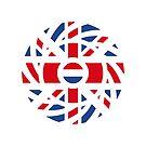 British Dutch Multinational Patriot Flag Series by Carbon-Fibre Media