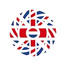 British Dutch Multinational Patriot Flag Series by Carbon-Fibre Media