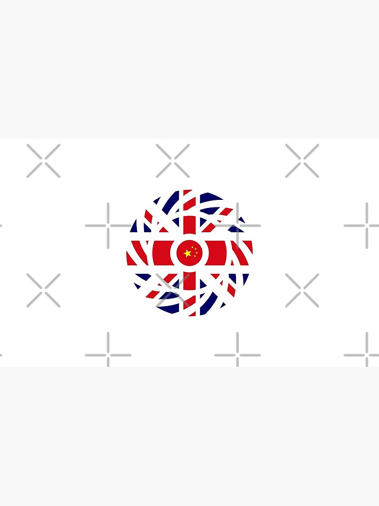 British Chinese Multinational Patriot Flag Series by carbonfibreme